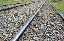 Pistas de la tranvía Imagen de archivo