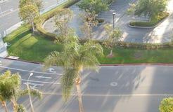 Pistas de tráfego de Califórnia Fotografia de Stock