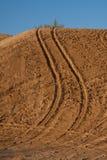 Pistas del desierto Fotos de archivo libres de regalías
