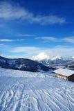 Pistas del esquí Fotos de archivo libres de regalías