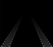 Pistas del neumático Imagen de archivo libre de regalías