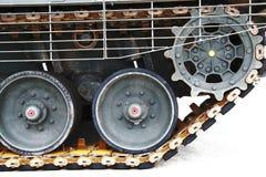 Pistas del tanque imagen de archivo