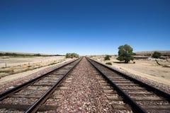 Pistas del tren Fotos de archivo libres de regalías