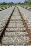 Pistas ferroviarias Fotografía de archivo libre de regalías