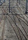 Pistas ferroviarias Fotografía de archivo