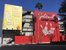 Pistas luxuosas de Splitsville, Orlando, FL fotografia de stock royalty free