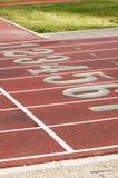 Pistas Running, 5 Imagens de Stock