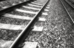 Pistas viejas del tren Fotografía de archivo libre de regalías