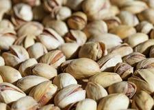 Pistashio-Nüsse, Hintergrund Stockfoto