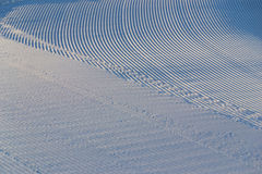 piste χιόνι Στοκ Φωτογραφία