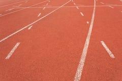 piste atletiche 4x100 fotografie stock