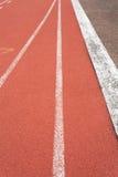 piste atletiche 4x100 immagini stock