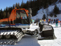 Piste Basher Stock Image