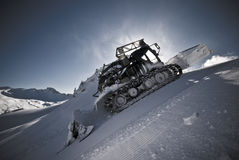 Piste bully Stock Image