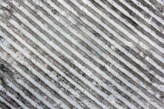 piste congelée par fond abstrait Images libres de droits
