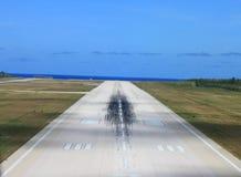 Piste d'aéroport Photos stock