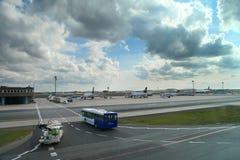 Piste d'aéroport Photo stock