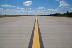 Piste d'aéroport Photos libres de droits