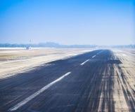 Piste d'aéroport Image stock