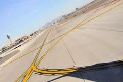 piste d'aéroport Photo libre de droits