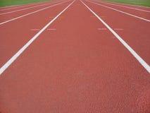 Piste d'athlétisme Images libres de droits