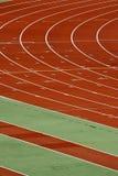 Piste d'athlétisme Image libre de droits