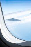 Piste d'atterrissage dans l'aéroport Image stock