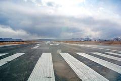 Piste d'atterrissage de l'aéroport mexicain Photo libre de droits