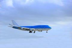 Piste de approche d'avion Image libre de droits