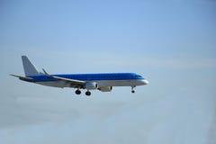 Piste de approche d'avion Photos libres de droits