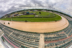 Piste de chemin de cheval chez Churchill Downs Photos libres de droits