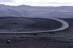 Piste de l'Islande Photos libres de droits