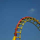 Piste de montagnes russes Image stock