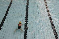 piste de natation de regroupement Image stock