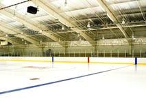 Piste de patinage de glace Photographie stock libre de droits