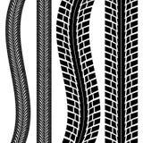 Piste de pneu illustration libre de droits