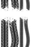 Piste de pneu illustration de vecteur