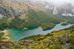 Piste de Routeburn, Nouvelle Zélande photos stock