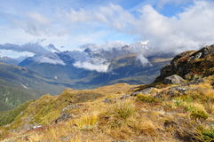 Piste de Routeburn, Nouvelle Zélande Images stock