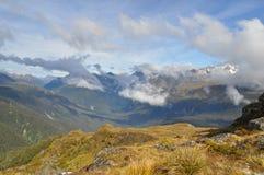 Piste de Routeburn, Nouvelle Zélande Images libres de droits