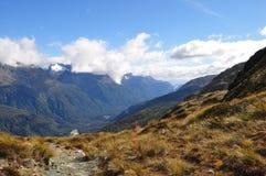 Piste de Routeburn, Nouvelle Zélande Image stock