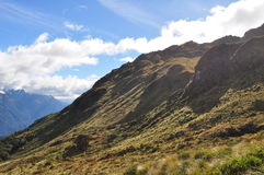 Piste de Routeburn, Nouvelle Zélande Image libre de droits