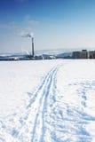 Piste de ski Photo libre de droits