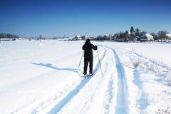 Piste de ski Images libres de droits