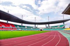 Piste de stade Photos libres de droits