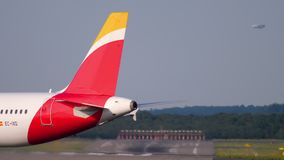 Piste de tour d'Airbus A320 Ibérie clips vidéos