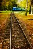 Piste de train Photos stock