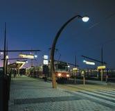 Piste de tramway de Prague Photo libre de droits