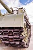 Piste del carro armato Immagini Stock Libere da Diritti