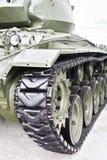Piste del carro armato Fotografia Stock Libera da Diritti